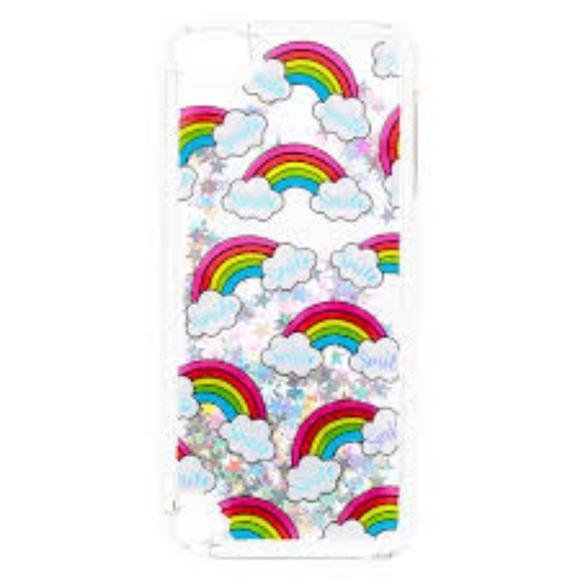finest selection 64c91 ce586 Rainbow Smile Liquid Filled iPod® Case Boutique